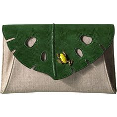 Charlotte Olympia Monstera Clutch at Luxury.Zappos.com