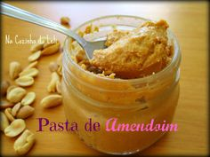 Na Cozinha da Leli: Pasta de Amendoim