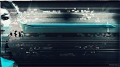 Glitch art abstract webpunk glitch glitch art 1920x1080 dark abstract blue zloigadik artists on tumblr noise art webpunk