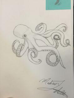 Octopus-by: Madison Latella