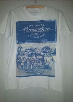 Kup mój przedmiot na #vintedpl http://www.vinted.pl/odziez-meska/koszulki-z-krotkim-rekawem-t-shirty/12304370-koszulka-river-island-amsterdam