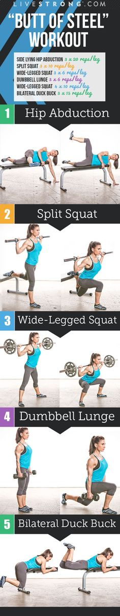 The ultimate Butt of Steel Workout!