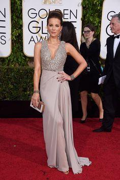 Kate Beckinsale In Elie Saab Golden Globes  Globe Awards Elie Saab Celebrity