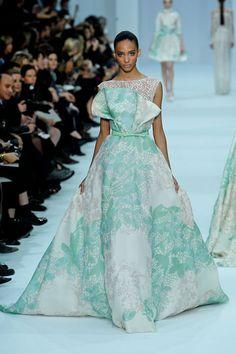 Elie Saab Haute Couture SS 2012 - Cora Emmanuel