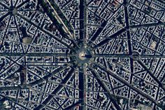 Civilization in Perspective: Capturing the World From Above,Paris, France. Image Courtesy of Daily Overview. © Satellite images 2016, DigitalGlobe, Inc