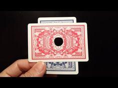 Card Through Finger - Cool Magic Card Trick Anyone Can Do - YouTube Easy Card Tricks, Magic Card Tricks, Magic Tricks For Kids, Babysitting Fun, Learn Magic, Sleight Of Hand, Magic Box, Science, The Magicians