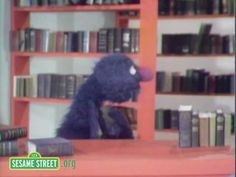 ▶ Sesame Street: Grover In The Library - YouTube