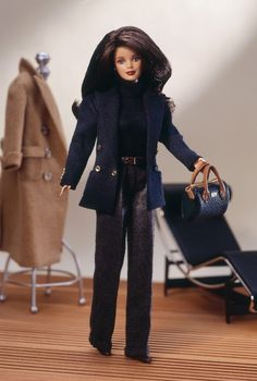 Ralph Lauren Barbie 1996 Ralph Lauren... I actually have this Barbie ... Still in the box! Love her!