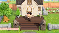 Animal Crossing Qr Codes Dark Wood Floor