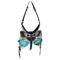 Etro The butterfly design bag