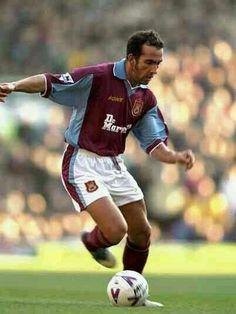 Paolo Di Canio of West Ham in 1999.