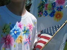 fireworks  t-shirts