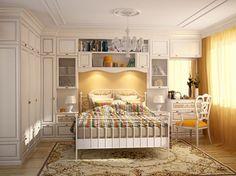 Furniture for Small bedroom – interior design ideas Small Bedroom Interior, Serene Bedroom, Small Bedroom Furniture, Modern Furniture, Home Furniture, Bedroom Decor, Bedroom Ideas, Furniture Ideas, Colorful Interior Design