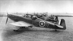 """british-eevee: """" P.82 Defiants lined up ready to go (1940) """" Ww2 Aircraft, Military Aircraft, Aircraft Photos, Military Weapons, Luftwaffe, Ww2 Planes, Battle Of Britain, Royal Air Force, World War Two"""