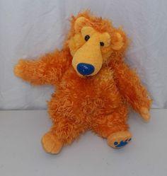 "Disney Bear In The Big Blue House Plush 15"" Mattel 1998 Henson Stuffed Animal #Mattel"