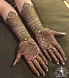 We have got a list of top Mehndi designs for Hand. You can choose Mehndi Design for Hand from the list for your special occasion. Henna Hand Designs, Mehndi Designs Finger, Wedding Henna Designs, Engagement Mehndi Designs, Indian Henna Designs, Full Hand Mehndi Designs, Mehndi Designs For Fingers, Dulhan Mehndi Designs, Mehandi Designs