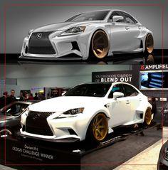 The Artist Behind The Lexus IS Design by Moonbeam13 on deviantART