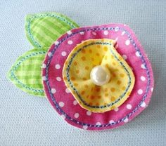 In The Hoop, Felt Fabric Flowers - 2 Sizes! | Spring | Machine Embroidery Designs | SWAKembroidery.com Digitized Creations