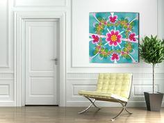 Un peu de couleur dans votre salon #radiateur #deco