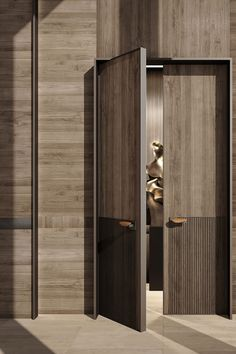 Ad Home, Yacht Interior, Door Detail, Architrave, Entrance Doors, Interior Design Studio, Pent House, Wall Treatments, Custom Leather