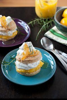 Meyer Lemon Shortcake   recipe from Local Kitchen Blog