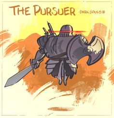 Dark Souls 2 - The Pursuer