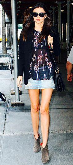 Street Style || Miranda Kerr