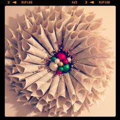 Handcrafted Designer Wreathes by Sara V.  Wreathes can be custom colored. Tabletop and Party design. Coming Soon to www.shopintheknow@ blogspot.com #tabletopdesignburlingtonnc #christmasinburlington