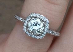 MY RING!!!!! He made dinner reservations at Cinderella's castle in Disney World and popped the question! I LOVE IT!!! <3