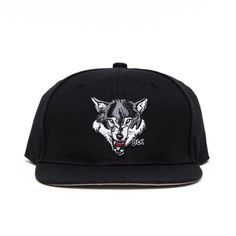 f8f11e11cdbe4 WOLF PACK LEADER SNAPBACK w  MEMBERS ONLY GOLD PIN- BLACK