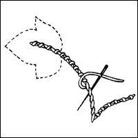 Crochet Outline Stitch : ... Stitches (& Leaves & Stems) on Pinterest Stitches, Satin stitch...