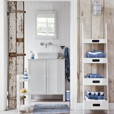 Buy John Lewis & Partners St Ives Bathroom Corner Unit from our Bathroom Shelves range at John Lewis & Partners. Bathroom Corner Unit, Family Bathroom, Bathroom Inspiration, Home Decor Inspiration, Storage Container Homes, Luxury Cabin, Bathroom Trends, Bathroom Ideas