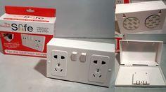 Imitation Double Plug Socket Secret Stash Safe Hide Valuables Conceal Money