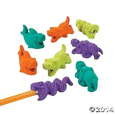 Eraser Eaters Pencil Toppers $5.25 24 Piece(s)