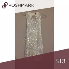 H&M Sequin Sparkle Dress Never been worn! Great party dress. Fully lined sequin dress H&M Dresses Mini