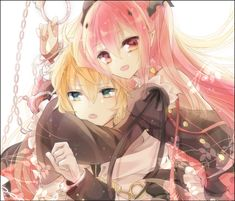 This is just kawaii~ (I see Krul as a younger sister to Mika, I love fanfiction AU's that do that)