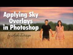 In this brief tutorial, learn a quick and easy method for editing skies in Photoshop or Photoshop Elements. I'll show you a couple of neat tricks for creatin. Photoshop Fail, Photoshop Photos, Photoshop Photography, Photoshop Elements, Overlays, How To Apply, Sky, Create, Simple