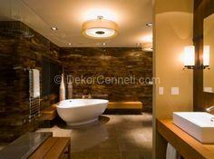 banyo ahşap tabure