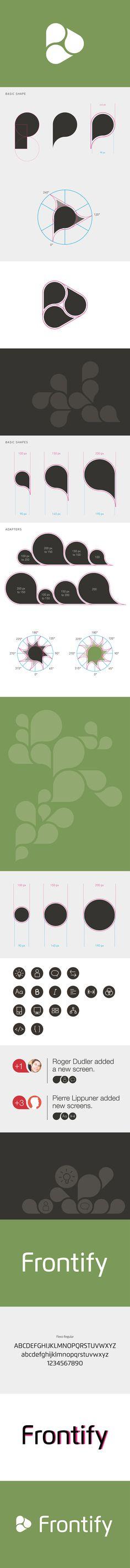 Frontify // Branding on Behance