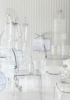Louis Ghost by Philippe Starck in a transparent world!