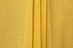 Sheer Glitter/Pattern (Yellow)