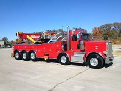 Peterbilt 1075S Tow Truck, Big Trucks, Car Hauler Trailer, Towing And Recovery, Peterbilt Trucks, Custom Trucks, Tractors, Vehicles, Big Time