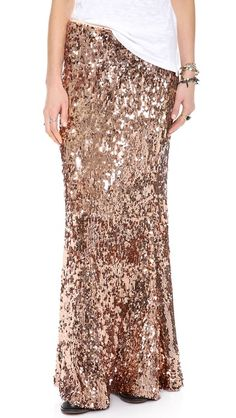 I want to put this on my Credit Card RIGHT NOW for the rehersal dinner should I do it? Free People Sequins for Miles Maxi Skirt