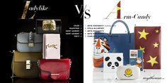 Ladylike vs Arm Candy heißt es bei mytheresa.com! #bags #designer