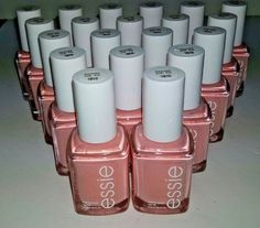 20 ESSIE Wholesale Nail Polish Pink baby bridal shower party favor Bulk lot #Essie