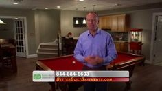 Better Built Basements: Scot Endorsement #2 :30 How would you like to take your basement from unfinished to unbelievable? You can with the help of Better Built Basements! http:/www.betterbuiltbasements.com