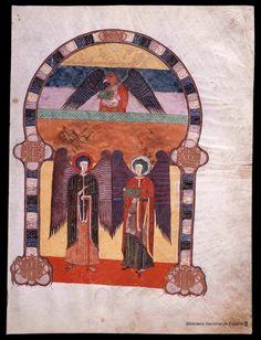 Beato de Liébana. Beato de Liébana , Santo — Manuscrito — 1047 17