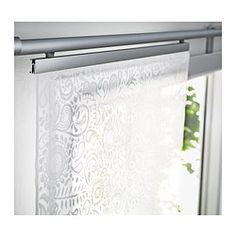 Is something like this what you were thinking for the doors??? ROSENKALLA Panel curtain - IKEA