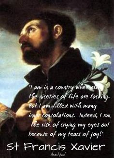 I am in a country - st francis xavier - 3 dec 2016
