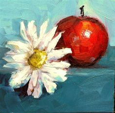 """""""Apples with Brie, oops, I mean Kelly"""" by kristen dukat  auction starts at $20"""